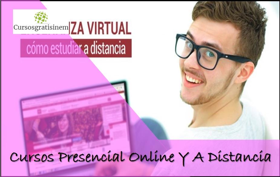 Estudia Cursos 2019 Presencial Online Y A Distancia