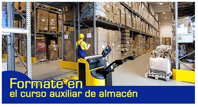 F rmate en el curso de actividades auxiliares de almac n for Horario oficina inem madrid