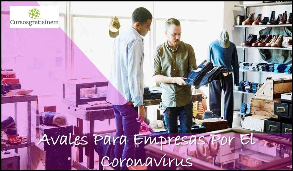 Avales Para Empresas Por El Coronavirus