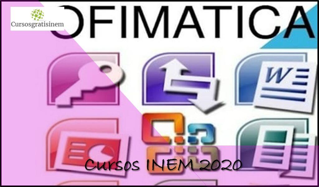Cursos INEM 2020