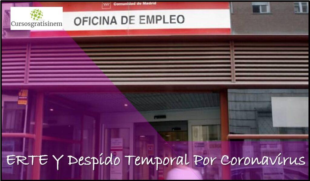 ERTE Y Despido Temporal Por Coronavirus