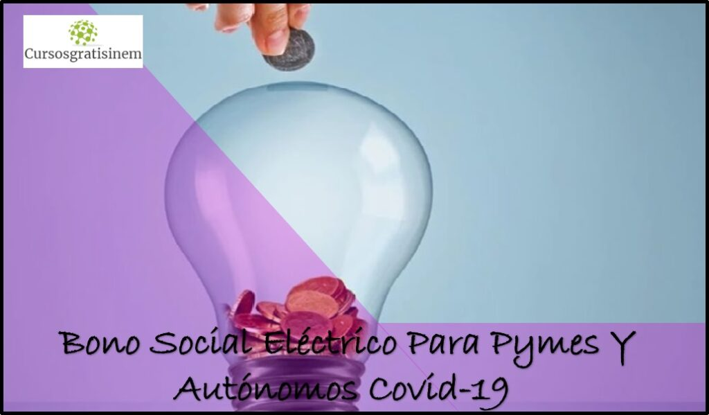 Bono Social Eléctrico Para Pymes Y Autónomos COVID-19